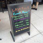 八重洲ランチ報告 LAVA ROCK