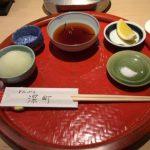 憧れのてんぷら深町(京橋)でランチ