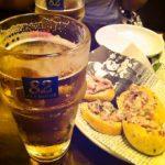 ビール軽めで350円
