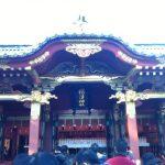 根津神社へ初詣 (谷根千散歩)