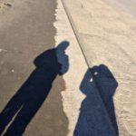 [妊]海までお散歩