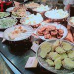 【子連れ 徳島鳴門旅行】アオアヲナルトリゾートのレストラン「彩 IRODORI」のブッフェは天ぷらがとても美味しい!