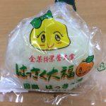 はっさく大福の販売が東京銀座の広島ブランドショップで始まりました